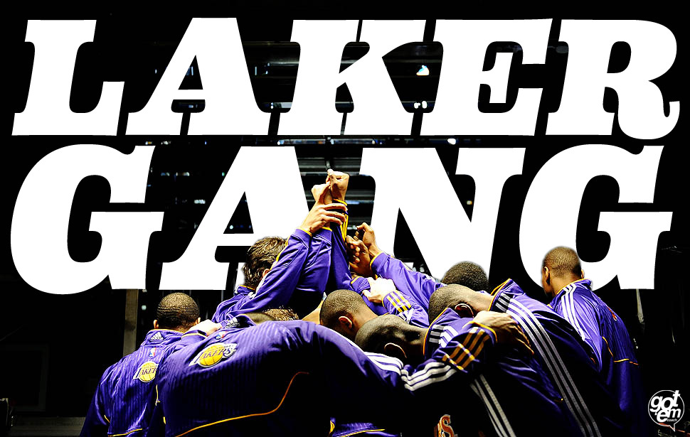gotemcoach:  Bang, bang, Laker Gang. @gotem_coach