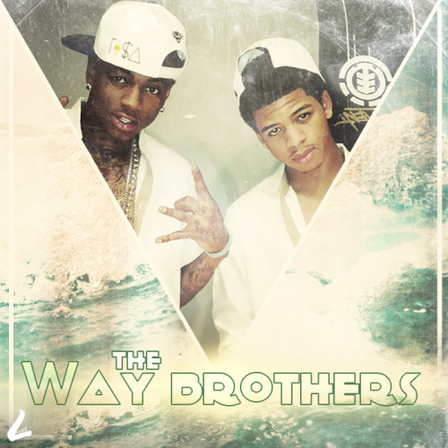 "Get Soulja Boy to peep this mixtape artwork for "" The Way Brothers"""