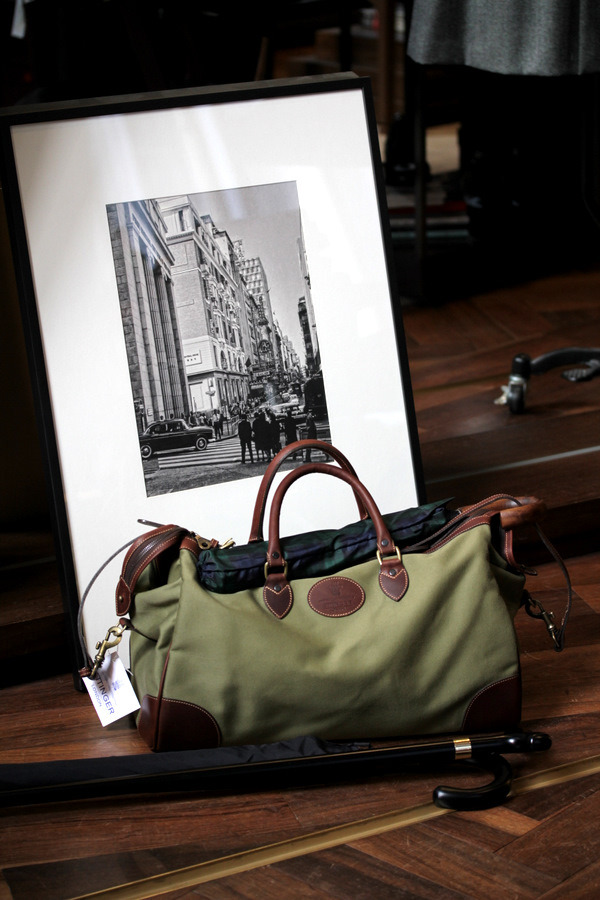 The Hurlingham bag by Ettinger @ The Armoury