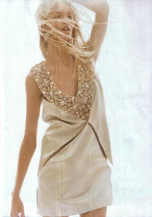 "Anja Rubik; Photographed by; David Sims, Vogue US, Jan 2012. ""Always a Woman,"" with love."