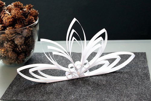 DIY Paper Art Ornament