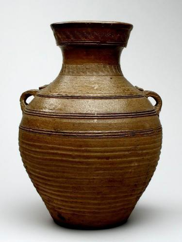 Chinese ceramic vase, c. 206 BCE-220 CE Carnegie Museum of Art, Pittsburgh, Currently not on view