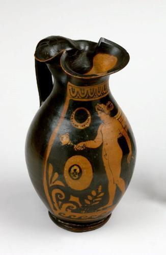 Ceramic vase, Etruscan, c. 5th-4th century BCE Carnegie Museum of Art, Pittsburgh, Currently not on view