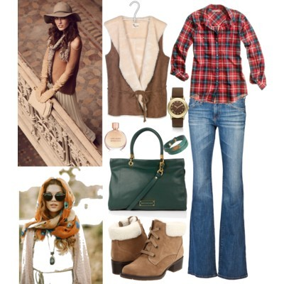i was born in the country baby by abbywayland featuring cuffed bootsMadewell cotton shirt$70 - madewell.comStella Forest slim vest€135 - placedestendances.comAG Adriano Goldschmied faded jeans£119 - farfetch.comSporto cuffed boots$75 - zappos.comMarc by Marc Jacobs leather handbag$776 - my-wardrobe.comMarc by Marc Jacobs brown jewelry$150 - marcjacobs.comFendi leather bangle$120 - barneys.comMissoni fringed shawl$138 - shopbop.comEstée Lauder Sensuous Eau de Parfum Spray 1.7 oz.$55 - bloomingdales.com