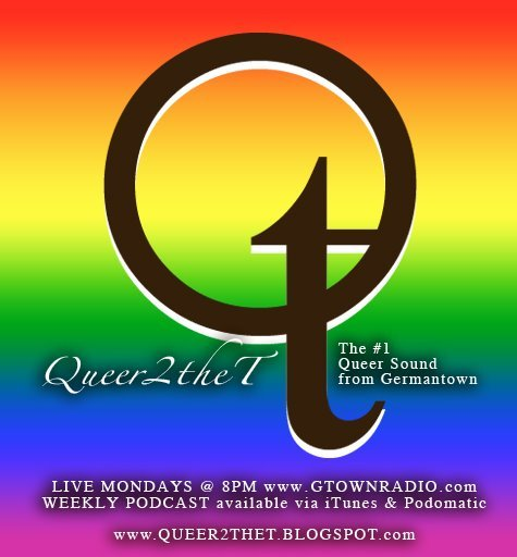We're going live in 10 minutes! I'm going to be a featured guest on Queer 2 The T TONIGHT (Monday, 12/19/11) at 8 PM EST. We'll be discussing gender  phukery, performance, art, and some of my upcoming events and projects,  including my role in tiona m.'s short film Bumming Cigarettes (coming in Spring 2012)! Make sure to tune in at GTown Radio (http://www.gtownradio.com)! Tell a friend to tell a friend to listen!  We're gonna have a great time, and we're gonna cut up quite a bit. :) Much Love and Appreciation, Alia