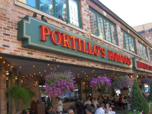 "On The Block: Portillos (8390 La Palma Avenue, Buena Park) HEY WENT TO EAT AT PORTILLOS TONIGHT IN LONG BEACH OR CYPRESS OR SOMETHING. FIRST CHECKED OUT THE MUPPETS MOVIE WHICH WAS RAD AS SHIT AND MADE ME REALLY NOSTALGIC. SO THEN MET UP WITH MY GIRL'S PARENTS AND BRO FOR A LITTLE CHICAGO STYLE GRUB. PLACE SMELLED GOOD RIGHT FROM JUMP, (ALWAYS A AUTOMATIC GRUB POINT ROUND HERE HAHAHAHA). PLACE WAS JAMMED, I HAD TO BULLY THESE LINGERERS OFF A TABLE JUST SO WE COULD SIT DOWN, (DON'T WORRY ASKED MY GIRL IF IT WAS COOL TO DO THAT FIRST SO IT WAS FINE). THEY LEFT AND WE SAT DOWN. I ATE AN ITALIAN BEEF. SO FUCKING GOOD, GOT PEPPERS ON IT AND EVERYTHING AND SMALL FRIES TOO, SO GOOD TOO. USUALLY I GET THE BIG BEEF THERE AND ITS GREAT BUT I'M COUNTING CALORIES (MYFITNESSPAL.COM REPRESENT!!!!). ANYWAYS, IT WAS SO GREAT, AND THE PRICE WAS RIGHT CUZ I DIDN'T EVEN HAVE TO PAY! WILL DEF BE GRUBBIN BACK AT TILLOS RILLY SOON. OH!!!! ALMOST FORGOT! THE PEOPLE WHO CALL OUT YOUR NUMBER MAKE IT RHYME (I.E. ""NUMBER 232, WE'RE LOOKING FOR YOU""), KIND OF LAME, BUT ALSO KINDA RAD IN A WEIRD WAY. ANYWAYS, REALLY TIRED, GOING BACK TO WATCH LENNY BUST SOME FOOLS ON LAW & ORDER. LATE. Verdict: 7 GRUBS (KINDA FAR AWAY FROM ME BUT TOTALLY WORTH IT IF I'M AROUND THERE ALREADY FOR SURE)"