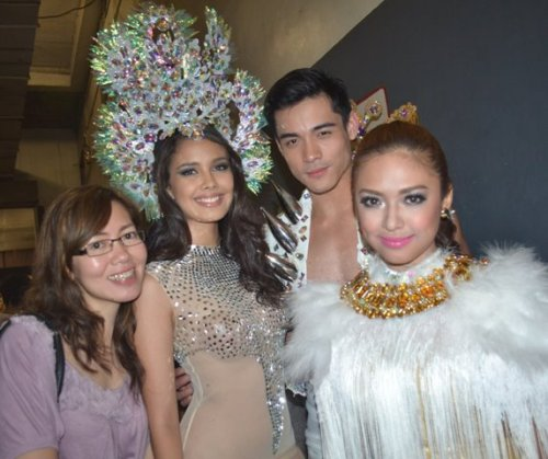 The ever so gorgeous handler at ang mga alaga niya. @gidgetdc @XianLimm @Bangsy_valerie