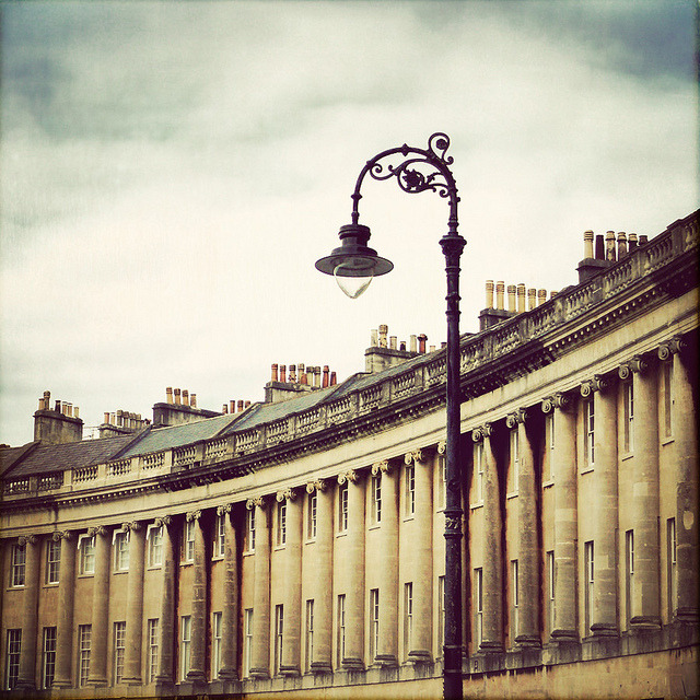 | ♕ |  Royal Crescent - Bath, England  | by © Catherine