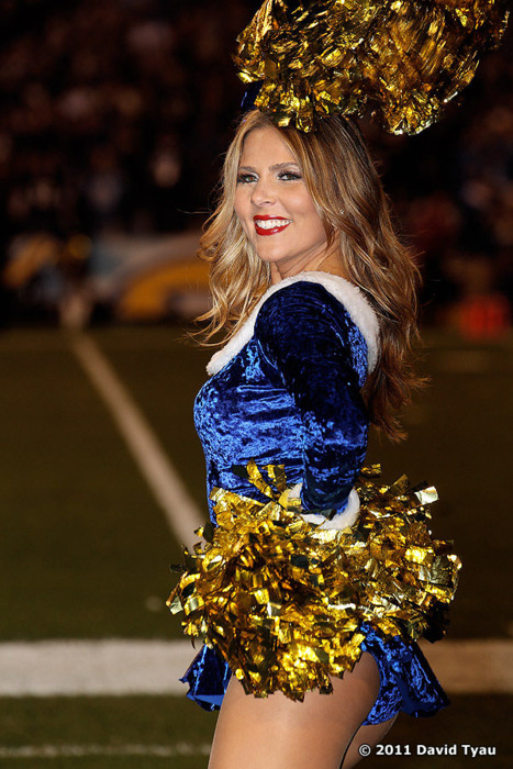 Lauren O. Selected As Pro Bowl Cheerleader For The Charger Girls
