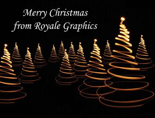 Merry Christmas from Royale Graphics!