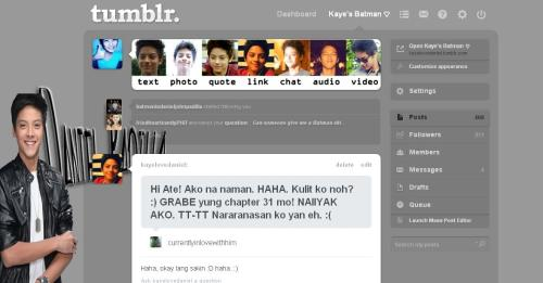 kayelovedaniel:  Do you want your dashboard to look like this? :) Reblog this! Follow this and this. And message me, and I'll tell you the code. DANIEL PADILLA DASHBOARD THEME!