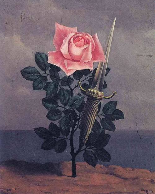 deadpaint:  René Magritte, The Blow to the Heart