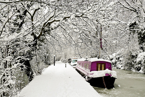 allthingseurope:  Oxford- Winter Wonderland (by ZedBee | Zoë Power)