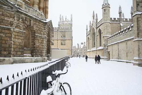 allthingseurope:  Oxford in the snow (by simononly)