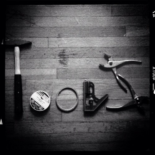 TOOLS // #dancristea #konstrktivist  (Taken with instagram)