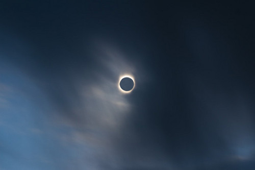 Perfect shot of a solar eclipse!
