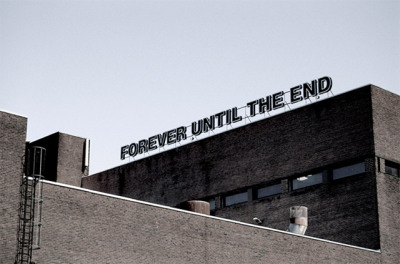 """forever until the end"" by kasper sonne"