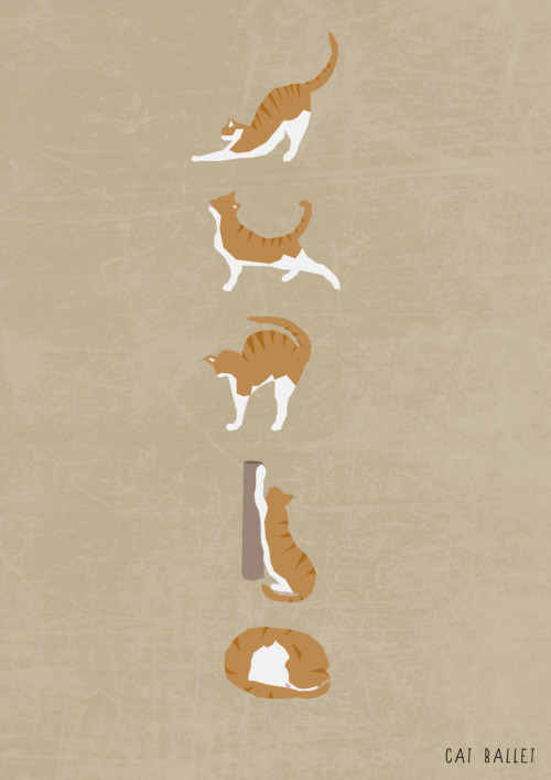 eatsleepdraw leads a two-step with:  Cat Ballet I'm an animator/illustrator, you can find more of my work here: www.idledoodles.tumblr.com