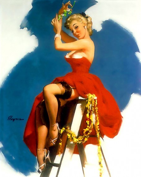 Gil Elvgren, A Put-Up Job (1955)