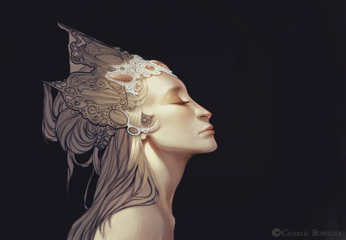 charliebowater:  Another work in progress to add to the pile! c: Photoshop CS5 & Wacom Intuos 3  Nice work, Charlie :)