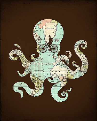 "I really like Enkel Dika's ""All Around The World"" - clever concept and elegant octopus."