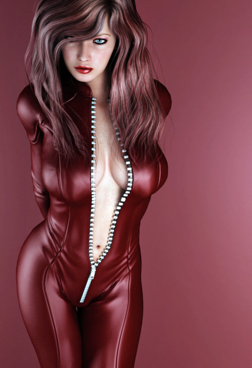 Virtual red suit