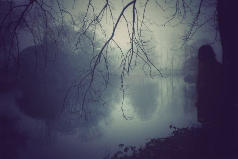 "blackmonoliths:  Pond by Aela Labbe ""My work is made up of my memories, my emotions, my hopes, my thoughts and my inner turbulences. There is a certain wistfulness about it - a shroud of reverie perhaps."" » More"