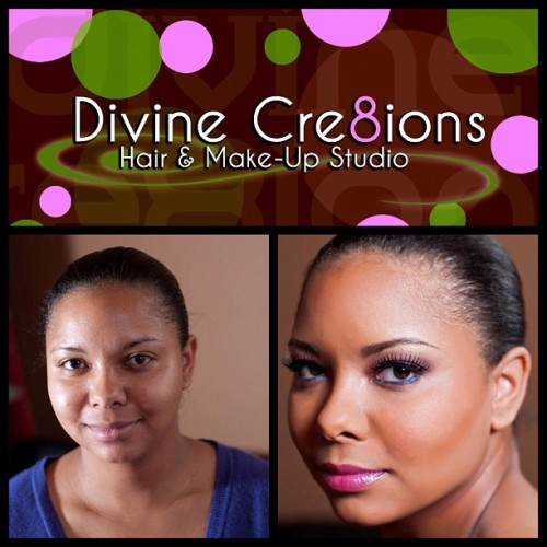 www.divinecre8ions.com #makeupmonday #beauty #makeup #eyelashes  (Taken with instagram)