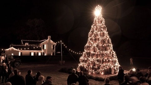 (via Spirits Are Sky High Around Jack Daniel's Holiday Barrel Tree | Adweek)