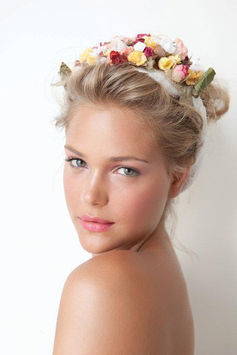 Summer is calling for really pretty floral headbands.