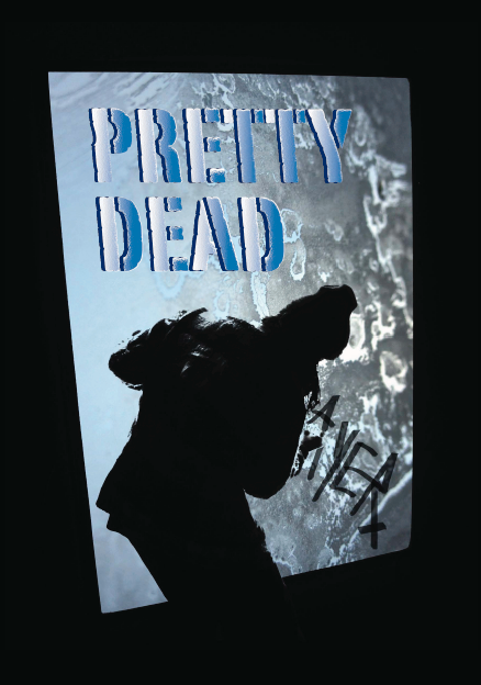 poster design for prettydead (design tech class)