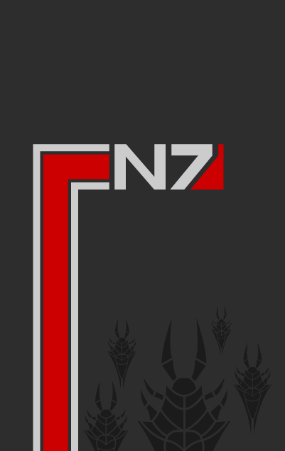 Mass Effect poster by ~adrius15