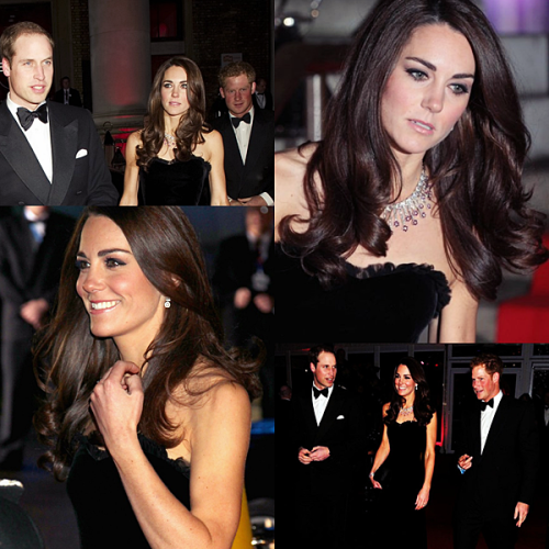 Kate, William and Harry at The Sun Military Awards - December 19th, 2011.