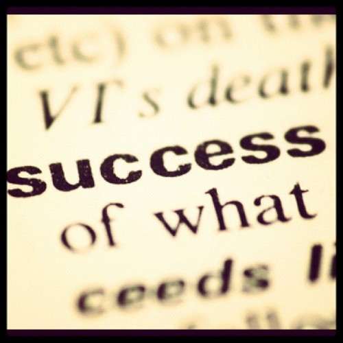 #success  (Taken with instagram)