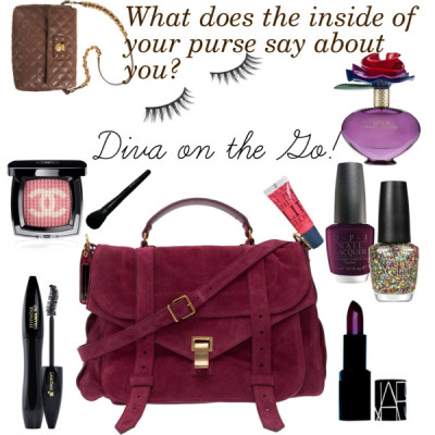 Diva on the Go! by demarja featuring genuine leather handbags
