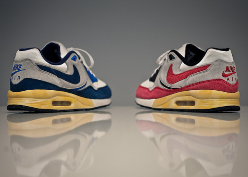 "Nike Air Max Light ""Vintage"" on Flickr.Buttery soft suede w/ butter colored soles lol"