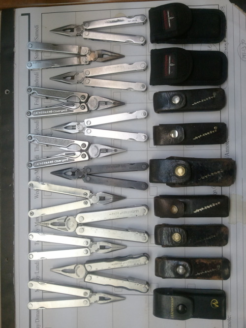 thingsorganizedneatly:  SUBMISSION: Leatherman assorted pocket tools