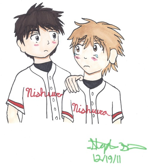 Abe and Mihashi for applesweetrose!