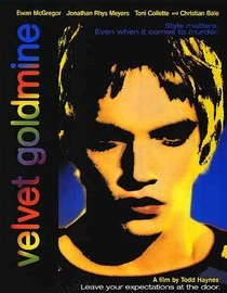 "I am watching Velvet Goldmine                   ""Fantastic film…by director Todd Haynes..one of my favorite films. Stellar cast with Jonathan Rhys Meyers, Ewan McGregor, Toni Collette, Eddie Izzard and Christian Bale. Loosely based on the Glam Roc…""                                Check-in to               Velvet Goldmine on GetGlue.com"