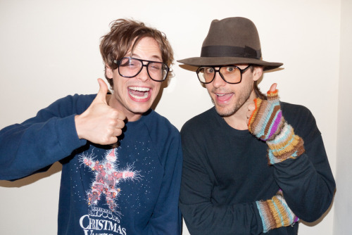 no words terrysdiary:  Gubler and Leto as Me