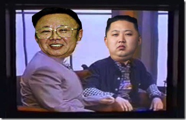 I also want to point out that Kim Jong-un and Kim Jong-il probably have a very similar relationship to Dr. Evil and Scott.