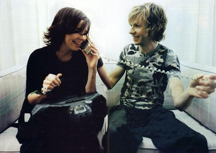 partytillyoubjork:  Bjork and Beck