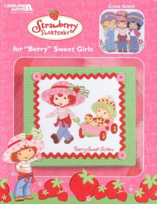strawberry shortcut cross stitch