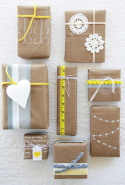 becksterist:  Creative Christmas wrapping