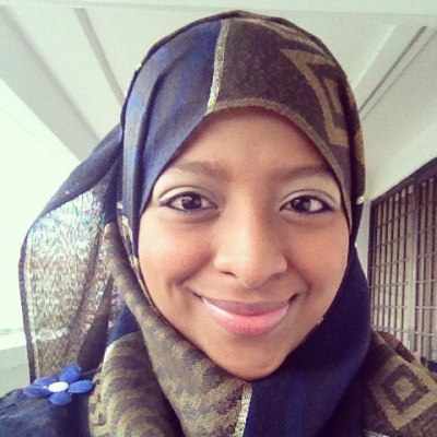 aminie:  day #55; I feel so comfortable with the hijab now, I feel good..I feel closer to the Almighty..I feel covered..I feel happy! :) thank you Allah! :)  MAshallah, MAy Allah keep you firm.