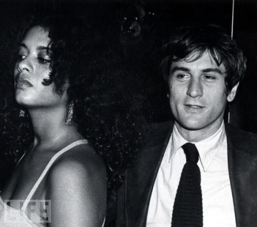Robert De Niro and Diahnne Abbott, 1976.