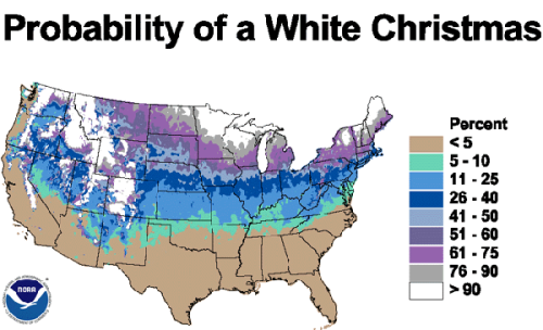 From a cool article called Christmas and GIS by GIS Lounge.