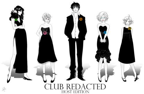 Club Redacted : Host Edition