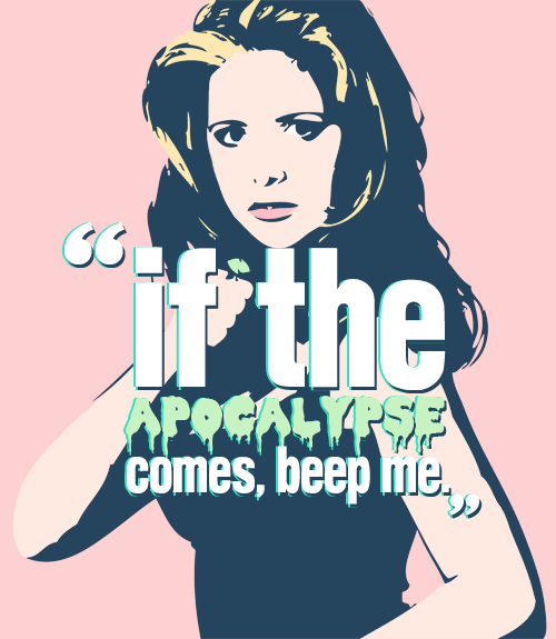 for @slayground  → buffy the vampire slayer.