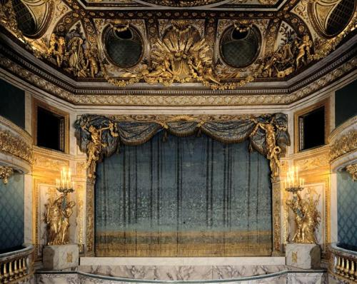 vivelareine:  The Queen's Theatre at the Petit Trianon (C) RMN (Château de Versailles) / Gérard Blot